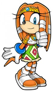 Meet Tikal the Echidna, Rex's mother and one of the secondary leaders of Chaos. Her Calling is in the Mind class, though it's never mentioned in the story.