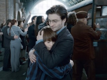 Harry and Albus Severus Potter