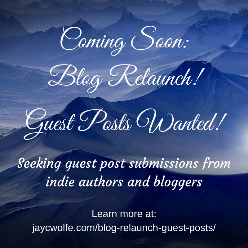 Blogging Break + Blog Relaunch Coming Soon! + Guest Posts Wanted