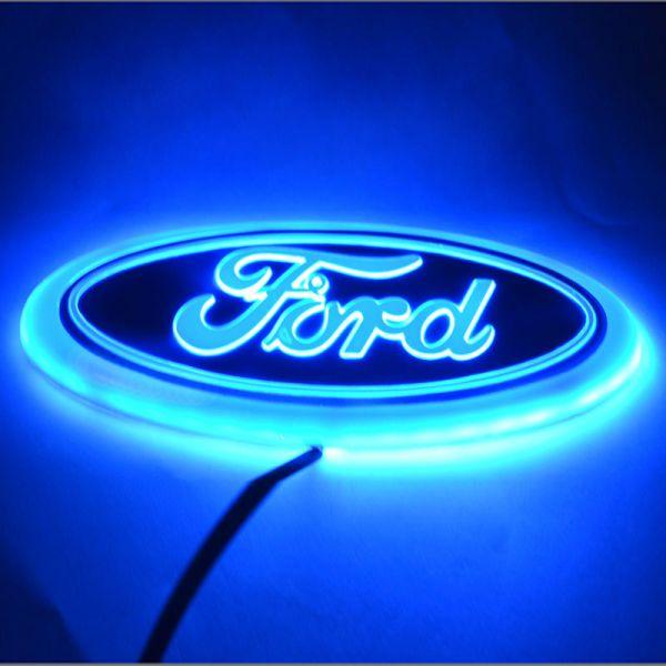 Ford Logo Car LED Light