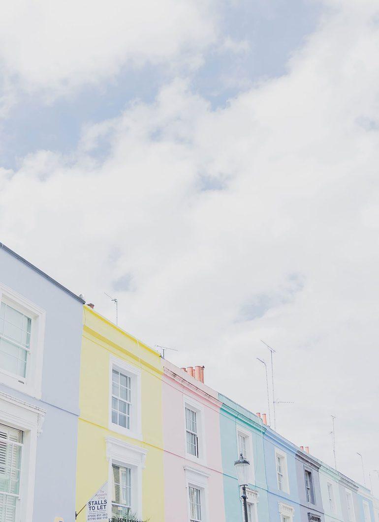 Prettiest Places to visit in London - Portobello Market