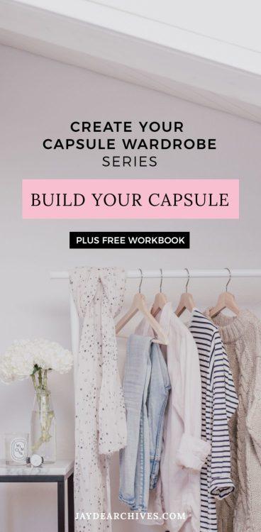 Create your Capsule Wardrobe post series and free Capsule Wardrobe Workbook