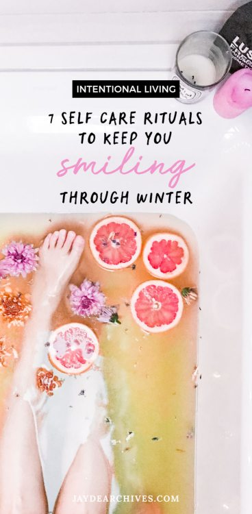 7 Self-Care Rituals to keep you Smiling through Winter with LUSH