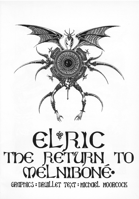 Elric: The Return To Melniboné , 1997, with Philippe