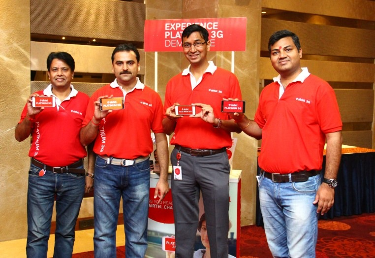Airtel Platinum 3G is live now at Ahmedbad 2