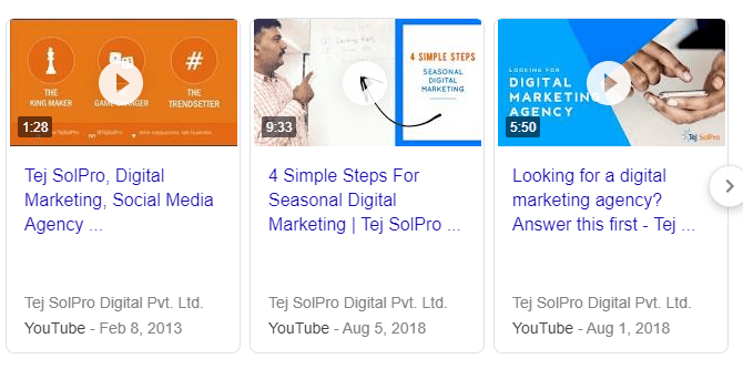 Tej SolPro YouTube Videos