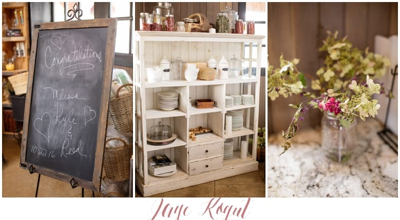 rustic wedding details, NJ weddings