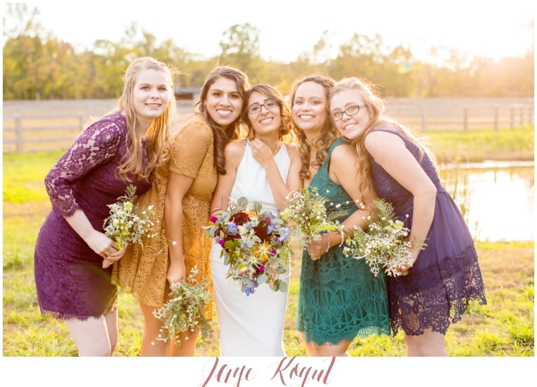 Cecil creek farm wedding, rustic NJ wedding, rustic wedding chic