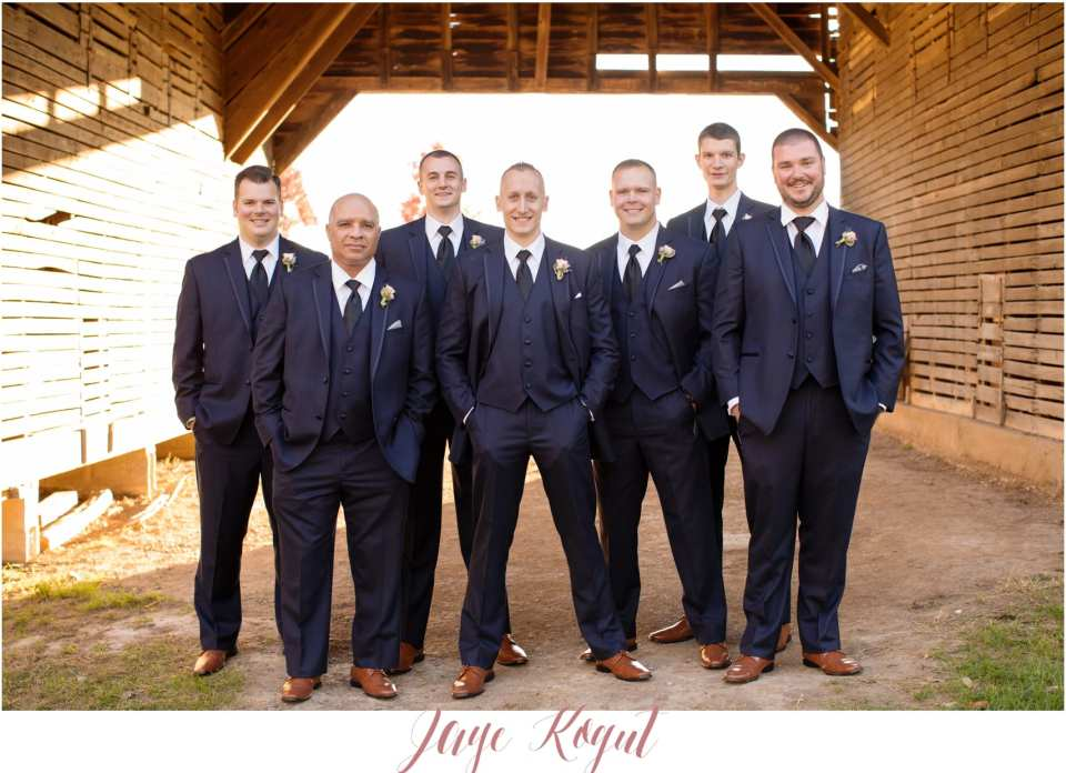 navy blue groomsmen tuxedo, barn wedding, rustic wedding chic