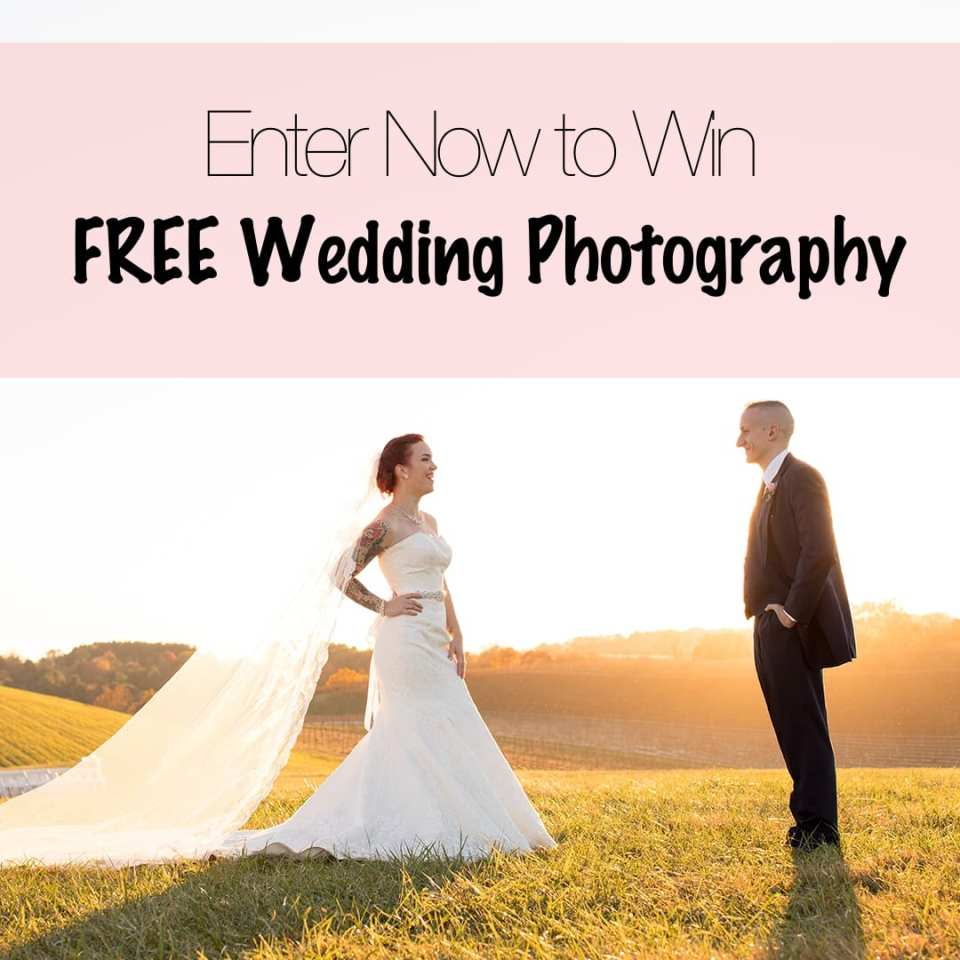 win free wedding photography, contests, sweepstakes