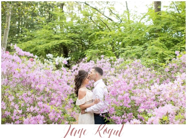 Sayen Garden Engagement Photos, Central new jersey wedding photographers