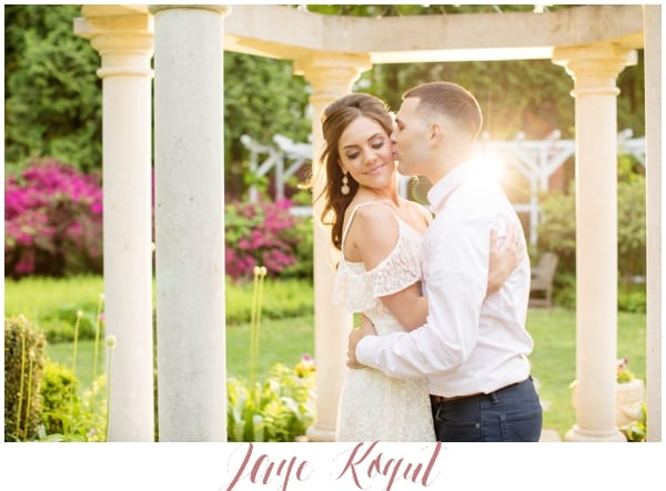 Sayen Garden Engagement Photos, luxury wedding photographers in New York city