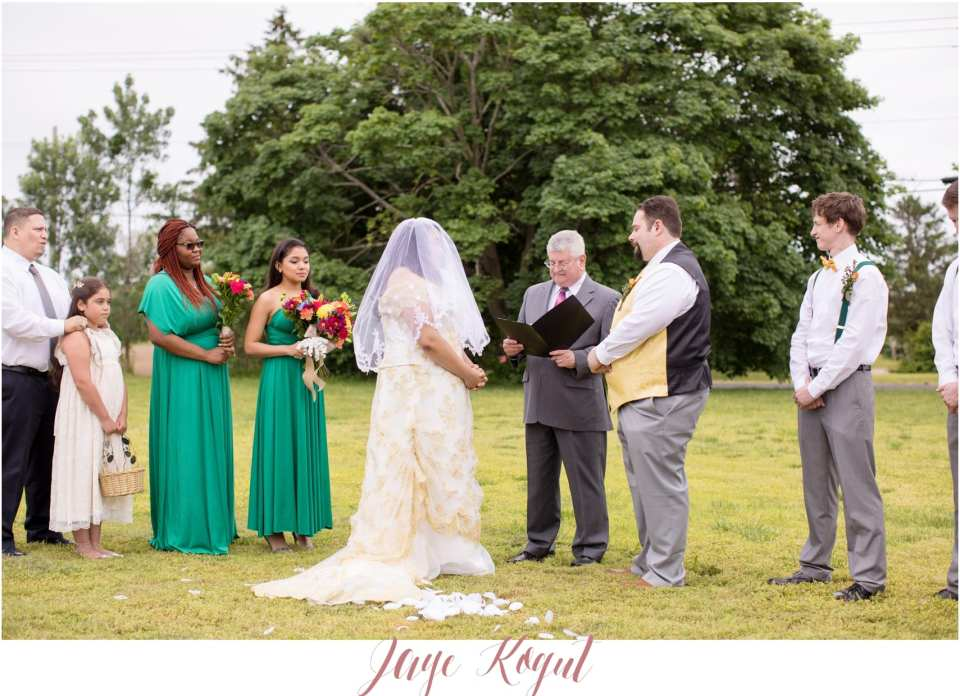 backyard wedding ceremonies