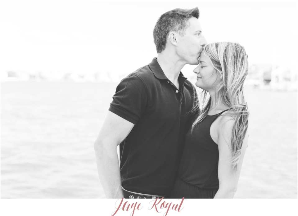 jersey shore photos, point pleasant inlet, engagement photos at the jersey shore