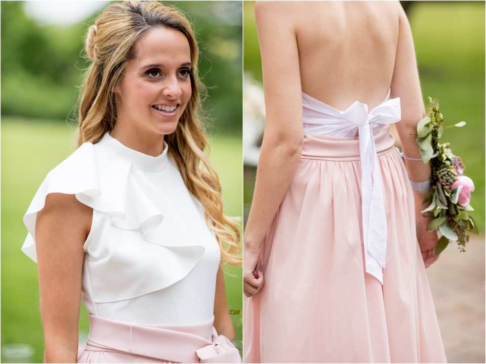 chic bridesmaid outfits