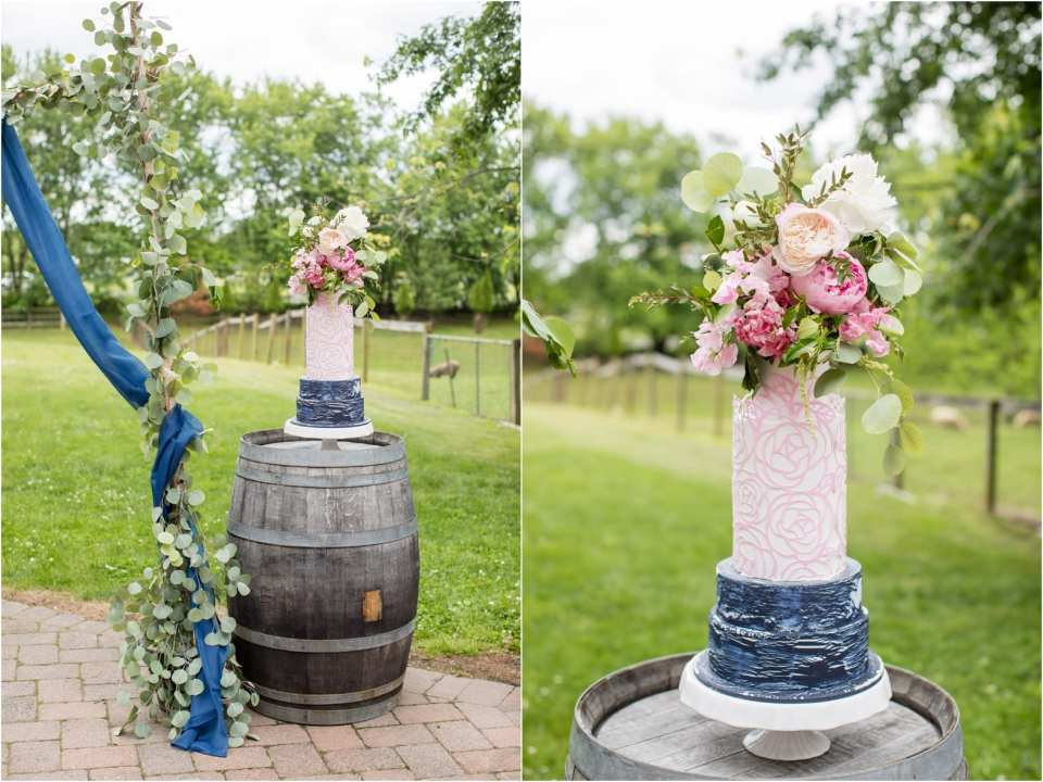 rosebank winery wedding cakes