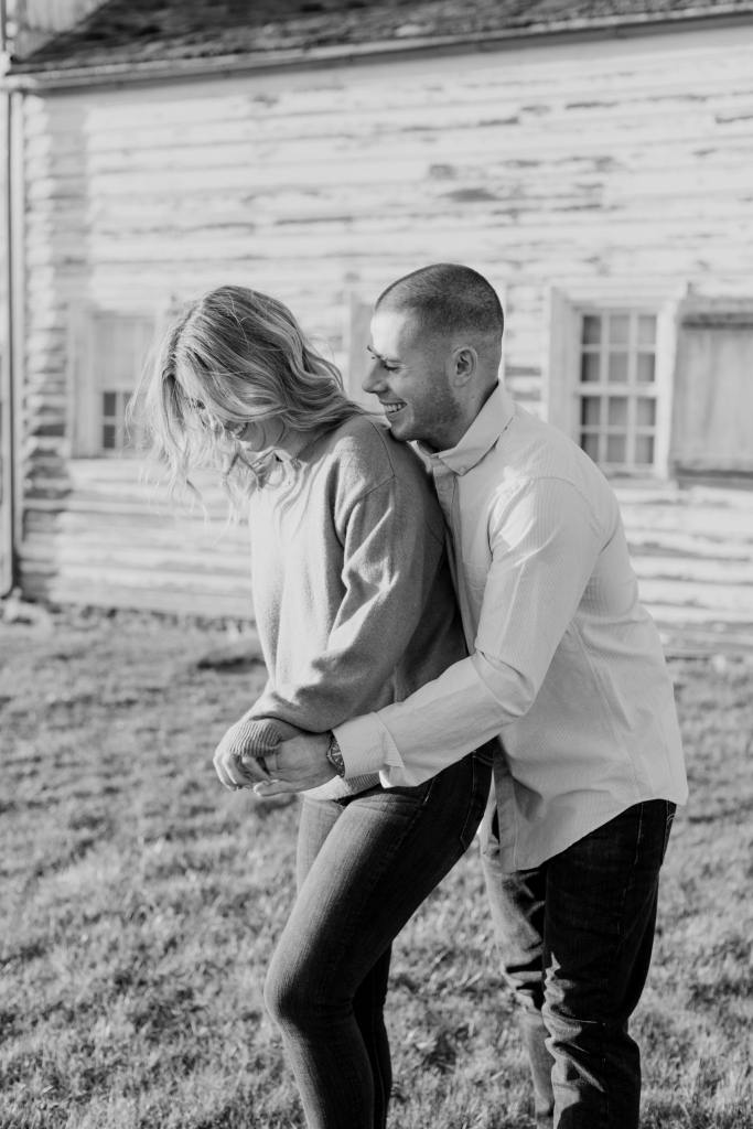 candid engagement photos, New Jersey wedding photographs