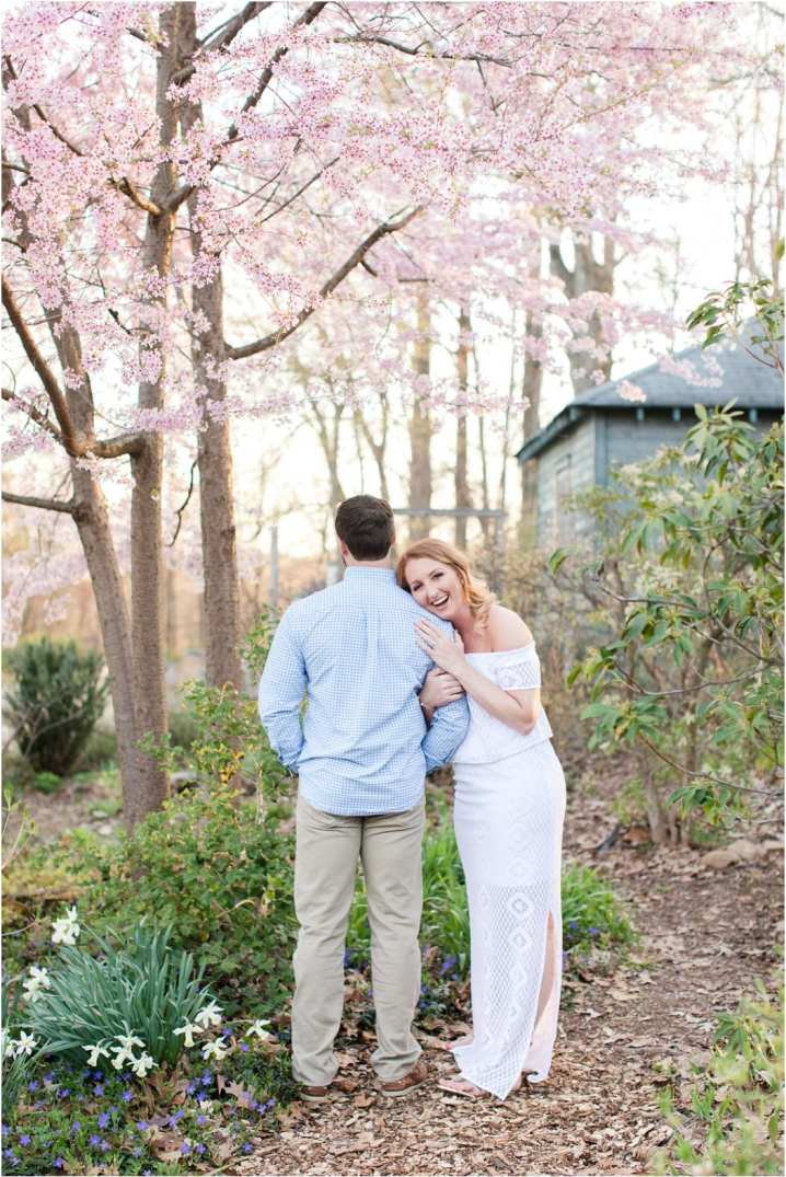 cross estate garden engagement photos, lilly pulitzer outfit ideas, romantic NJ engagement photography, New Jersey wedding
