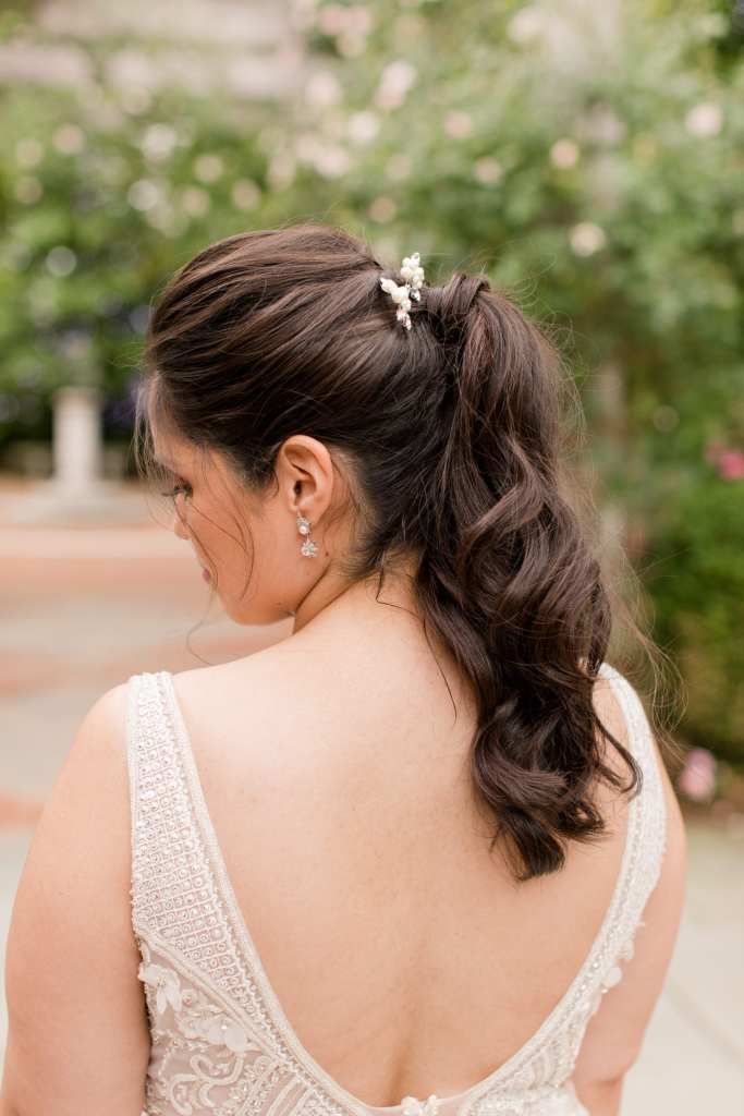 The party pony hairstyle for weddings