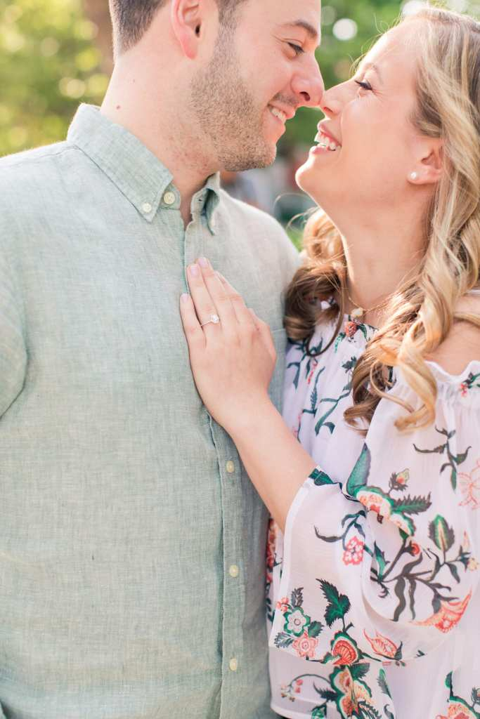 engagement ring, engagement photos, marisa perry atelier