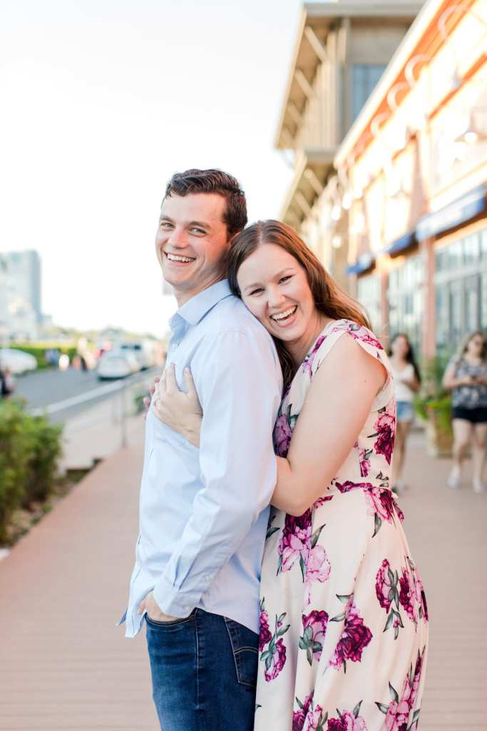 Long Branch engagement photos, New Jersey engagement photographer, Pier Village engagement photos