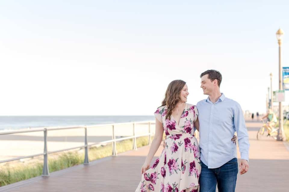 Long Branch engagement photos, NJ engagement photographer, Jersey Shore engagement photos