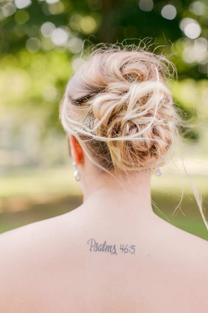 bridesmaid details, Psalms 46:5