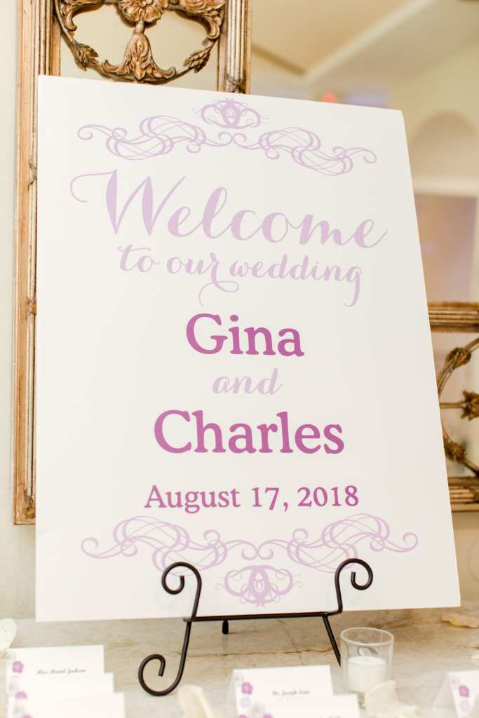 unique welcome to wedding, Central NJ wedding