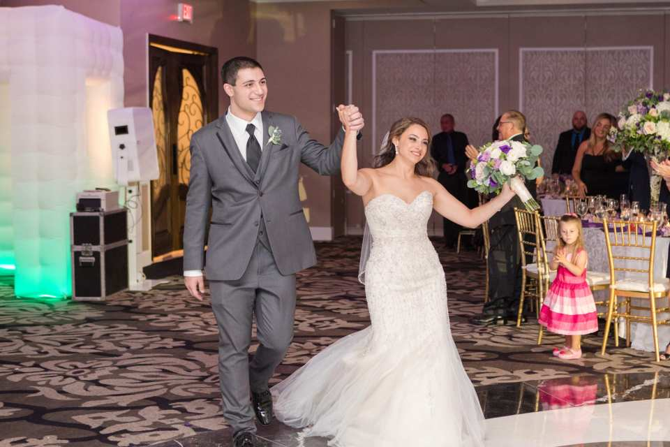 bride and groom entrance, Grand Marquis