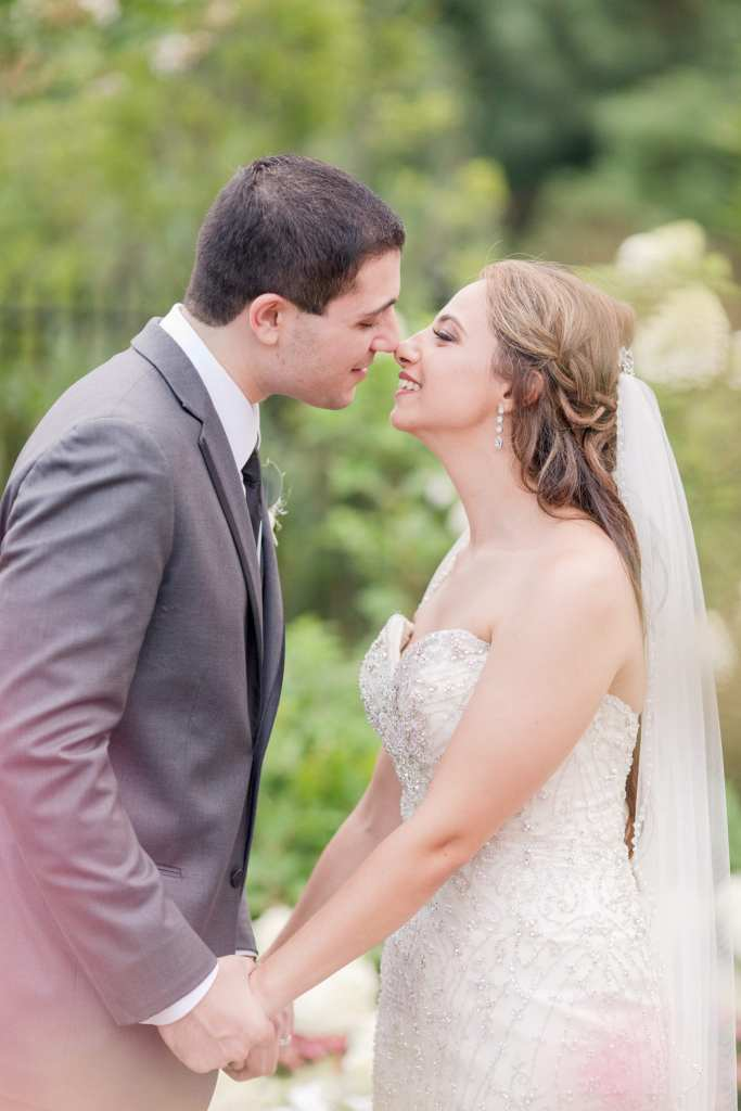 Bride and Groom in love, love shot, NJ wedding photographer