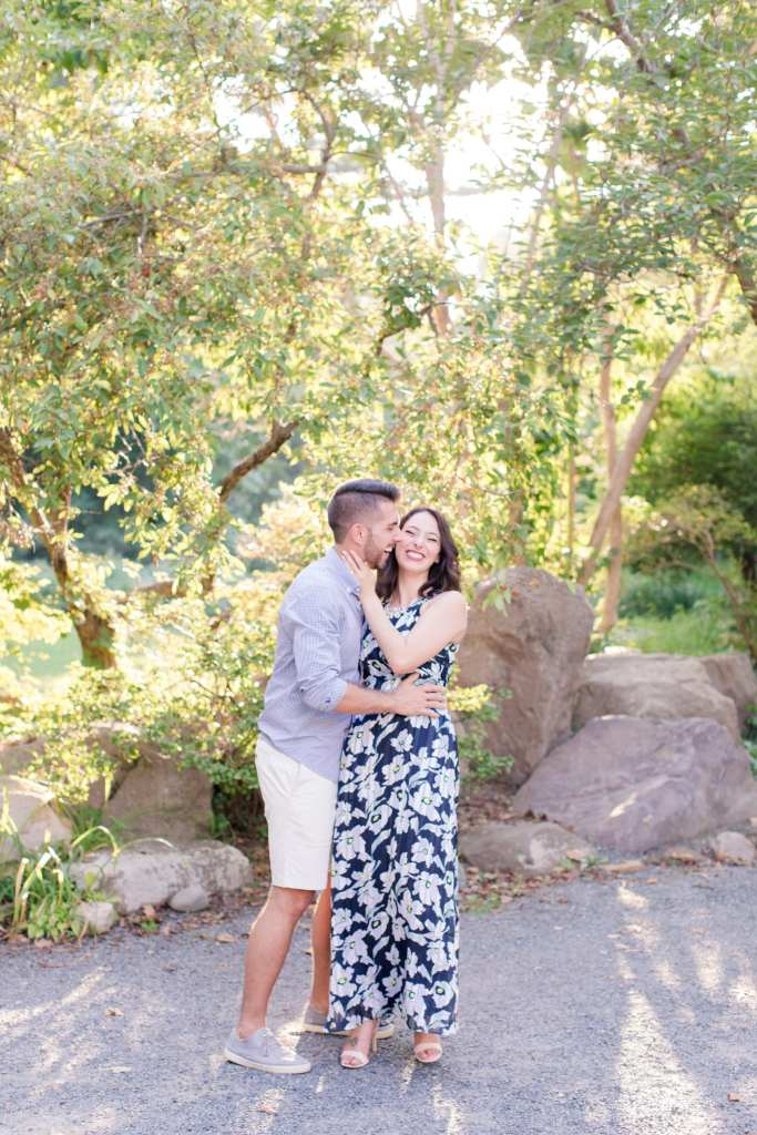 Sayen Gardens Engagement Photos, Central New Jersey engagement photos, NJ wedding photographer