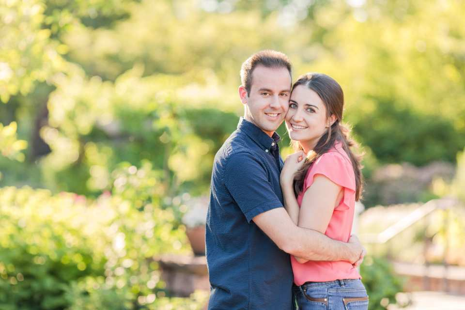 casual engagement session, outdoor engagement session, Central New Jersey engagement session