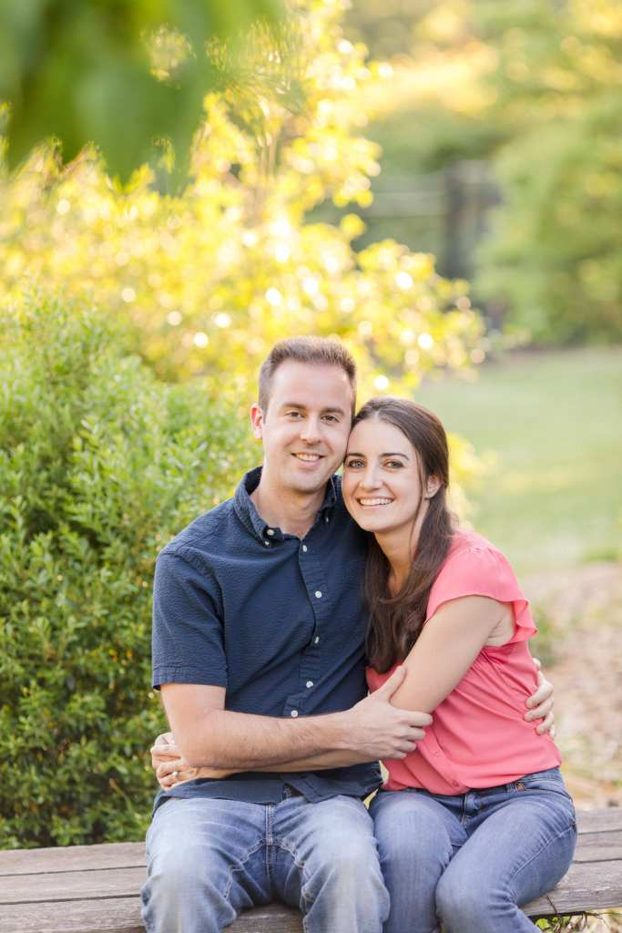 Casual Central New Jersey engagement session