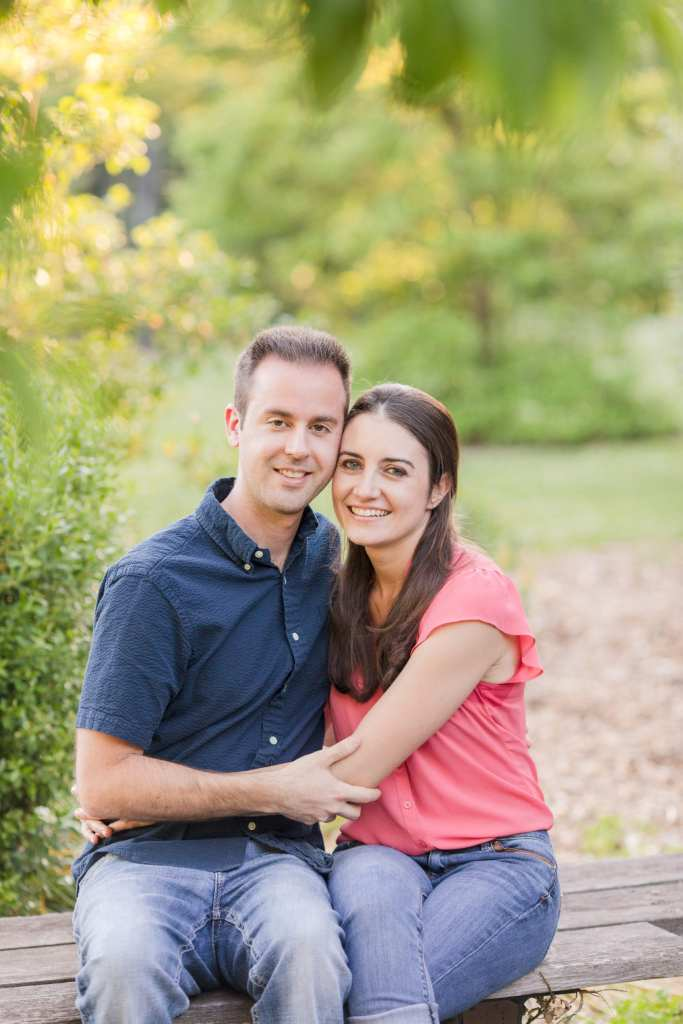 Central Jersey engagement session