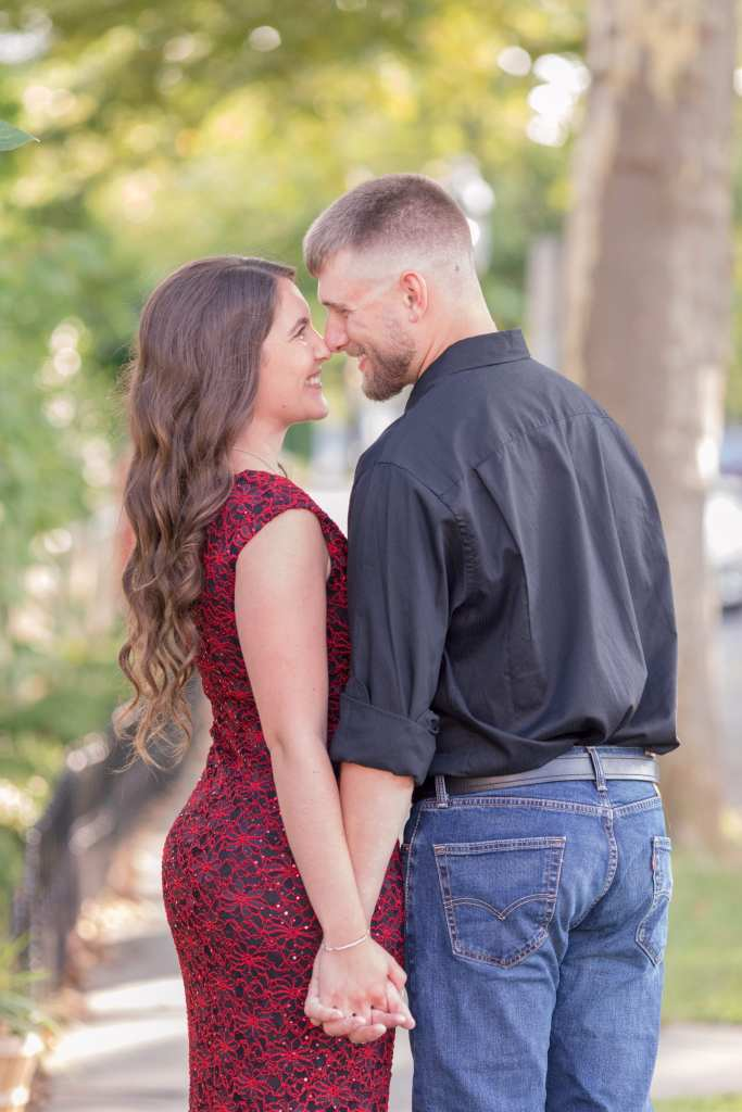 South Jersey engagements, Cape May engagements, Classic engagement photo