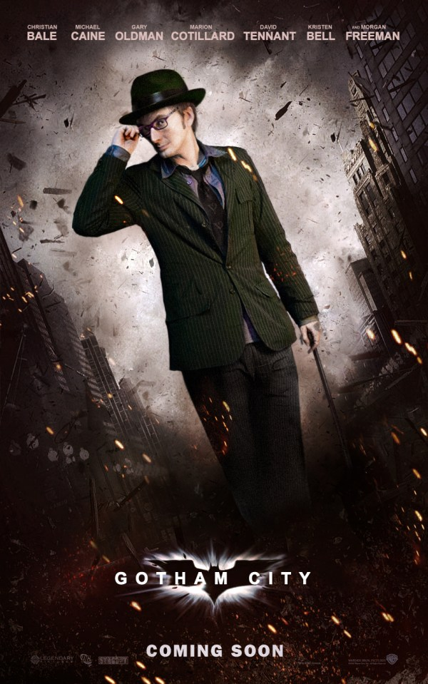 Jim Parsons MUST play The Riddler!