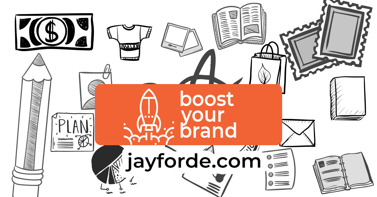 Boost Category Print Design