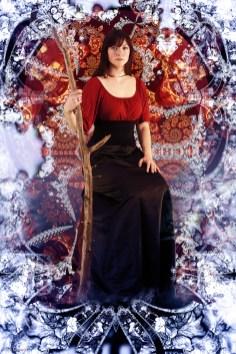 The Queen of Wands