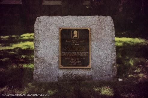 H. P. Lovecraft's Memorial site