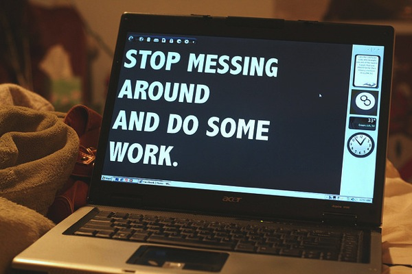 Stop Messing Do the work