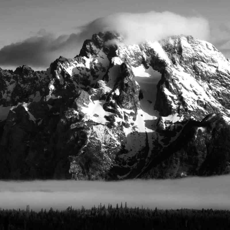 Teton Photo Adventures - Mount Moran Spring Tetons Wyoming Weather