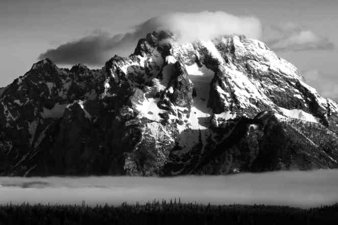 Teton Photo Adventures - Mount Moran Spring Tetons Wyoming Weather