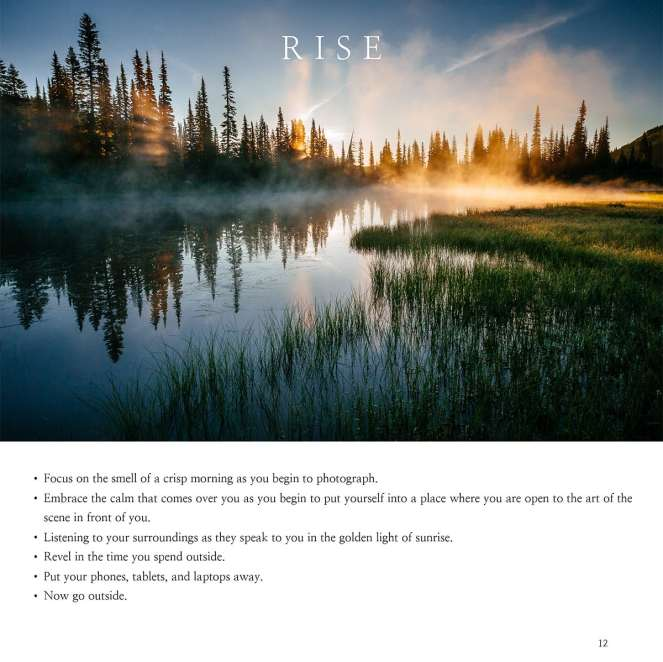 Photography Insight Interior Book Page Example 3