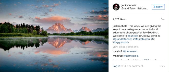 Instagram Takeover - Screenshot 1