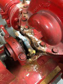 fire pump corrosion