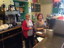 Your daily dose of heroes can be seen everyday at Cup of Joe. Cori and Amber were steaming, shaking, brewing and mixing some of the best coffee and teas in town. https://www.facebook.com/cupofjoe.cedarfalls?fref=ts