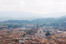 A view of Santa Croce, and a bit of the Arno River from this angle.