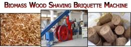 8-Biomass Wood Shaving Briquette Machine