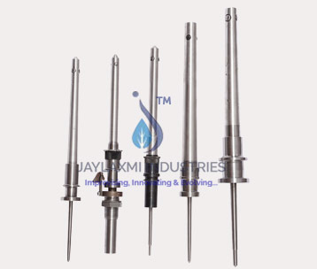 Range Of Textile Spindles