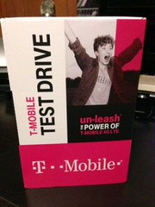 "I took the plunge for the T-Mobile Test Drive, a clever ""try-before-you-buy"" promotion."